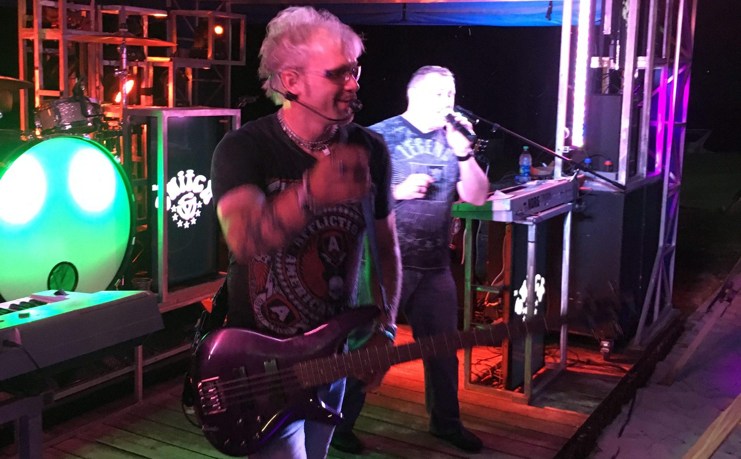 live music at Eaton Ferry Marina