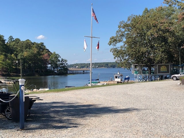 eaton ferry marina on lake gaston