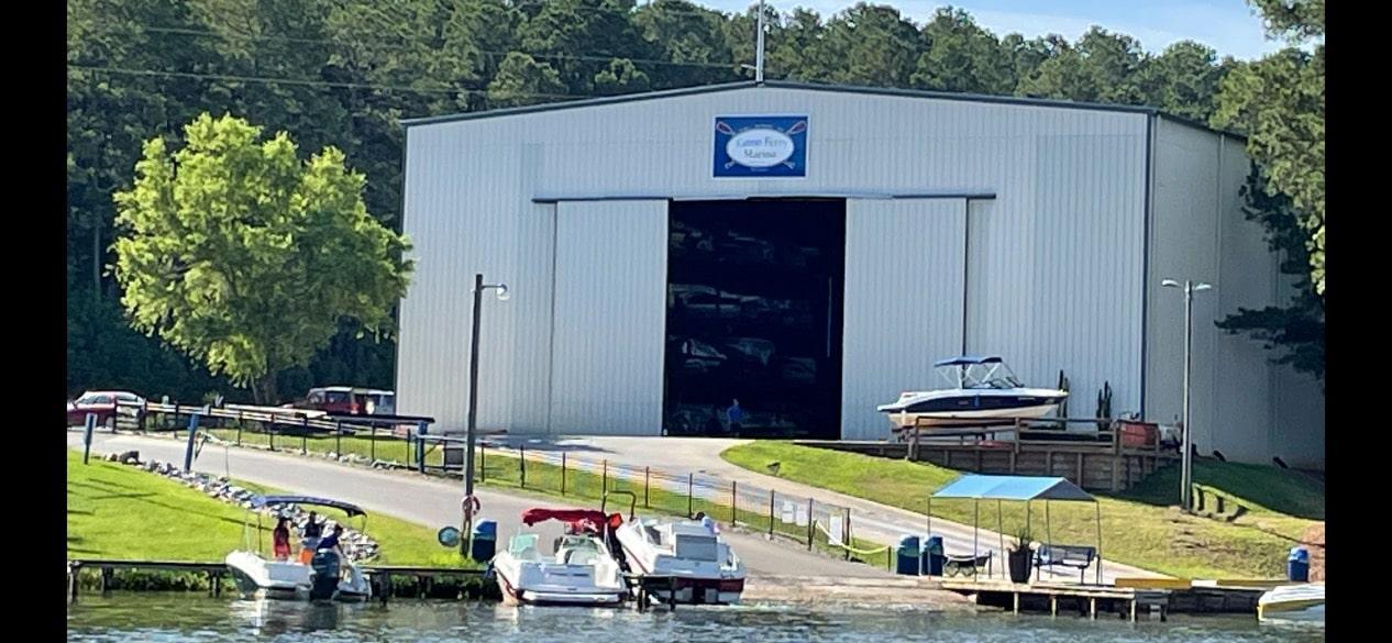 Lake Gaston boat storage and boat ramp